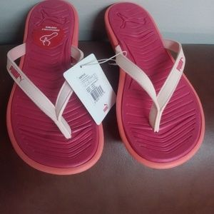 PUMA Women's Lux Flip Pro Athletic Sandal NWT Sz 7